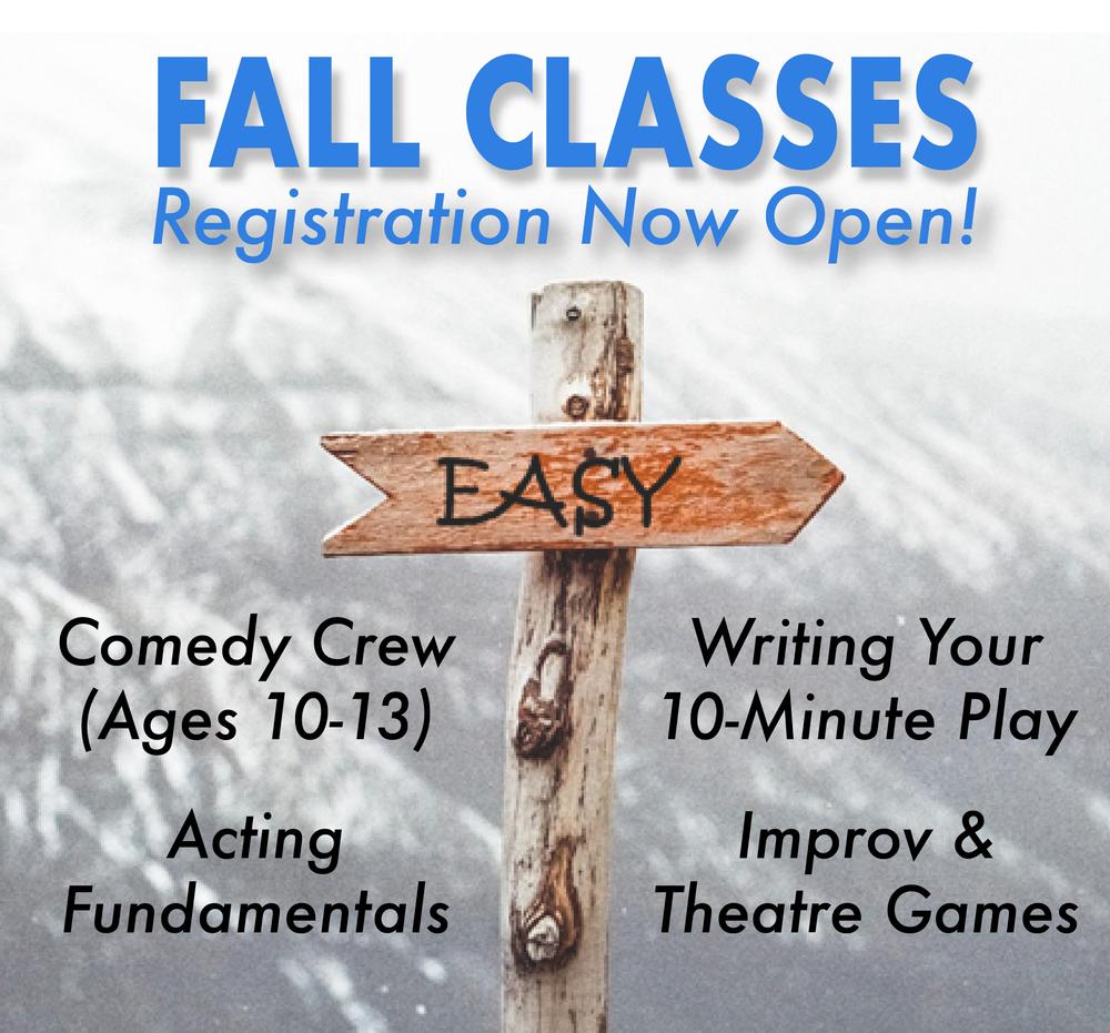 Fall 2018 Classes