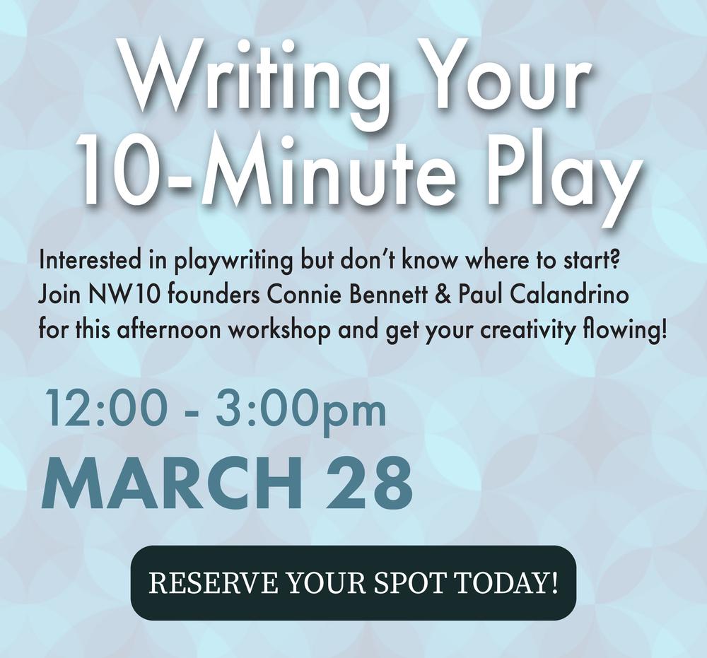 NW10 Workshop