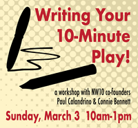 Writing Your 10-Minute Play